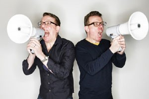 The Proclaimers - Charlie and Craig Reid