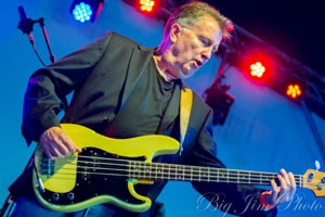 Tom Robinson rocking at Wickham Festival