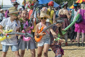 Never too young to rock at Wickham Festival