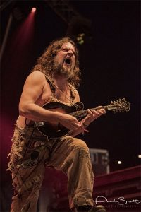 Hayseed Dixie had the Big Top rocking
